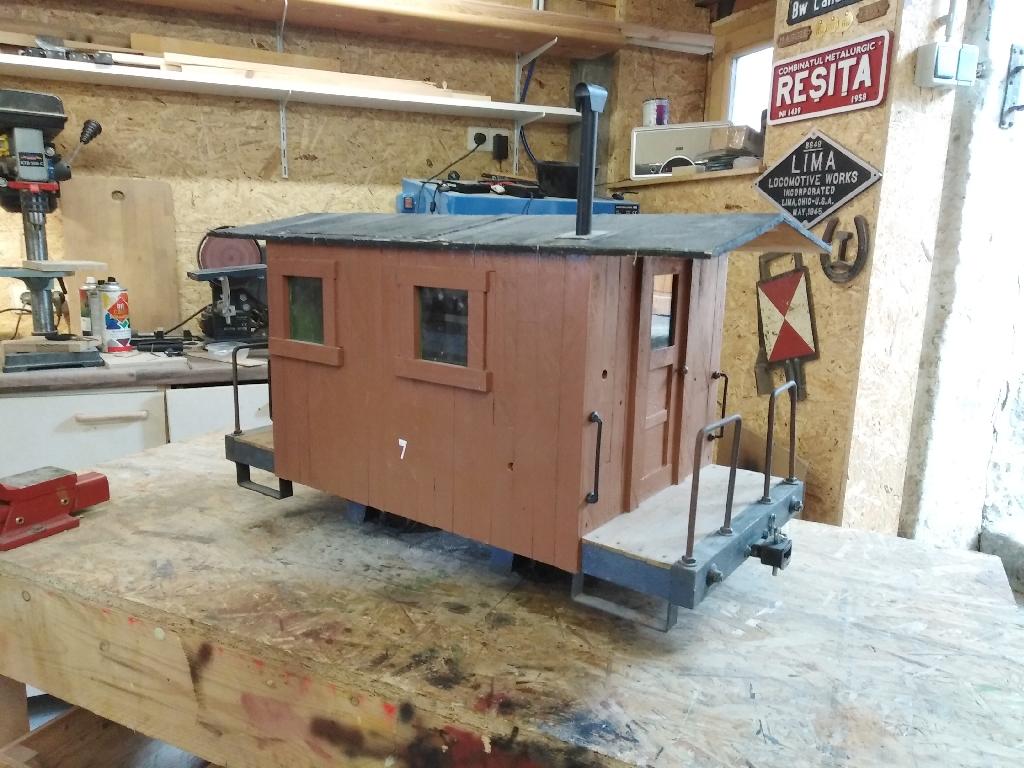 MLC] Rebuild of caboose #7 to 1:7-scale – Waldbahner's Blog